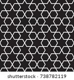 black and white simple star... | Shutterstock .eps vector #738782119