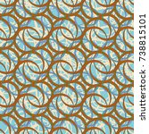 abstract color seamless pattern ...   Shutterstock .eps vector #738815101
