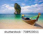 Long Tail Boat On Poda Island...