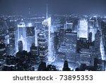new york city manhattan times... | Shutterstock . vector #73895353