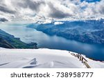 View of the lake garda from...