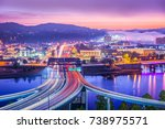 charleston  west virginia  usa... | Shutterstock . vector #738975571