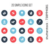 set of 20 editable kid icons....