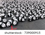 Many Panda Sculptures View Fro...