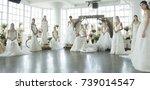 new york  ny   october 5  2017  ... | Shutterstock . vector #739014547