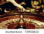 people play casino games  gold... | Shutterstock . vector #73903813