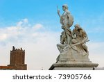 The Statue At Venezia Square I...