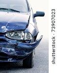 Car Accident  Insurance Concept