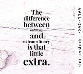 inspirational and motivational... | Shutterstock . vector #739071169