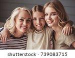beautiful women generation ... | Shutterstock . vector #739083715
