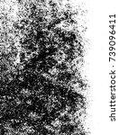 grunge black white. monochrome... | Shutterstock .eps vector #739096411