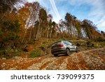 brasov  romania   october 20 ... | Shutterstock . vector #739099375