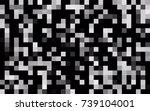 dark blue vector pattern. brand ... | Shutterstock .eps vector #739104001