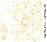 christmas background with... | Shutterstock .eps vector #739106035