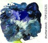bright texture paints   Shutterstock . vector #739113121
