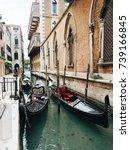 venice gondola   Shutterstock . vector #739166845