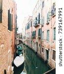 venice canals   Shutterstock . vector #739167991