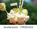 smoothies   Shutterstock . vector #739201321