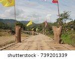 bridge wood in district pi...   Shutterstock . vector #739201339