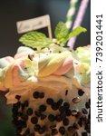 smoothies | Shutterstock . vector #739201441