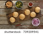 home cooking. homemade homemade ... | Shutterstock . vector #739209541