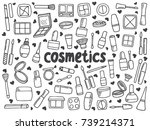 collection with beauty and... | Shutterstock .eps vector #739214371