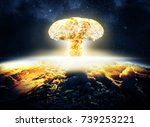 Nuclear Explosion Seen Above...