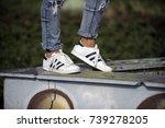 milan  italy   september 28 ... | Shutterstock . vector #739278205