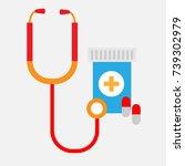 medical icon | Shutterstock .eps vector #739302979