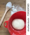 Small photo of to let the dough prove, kneading