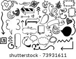 arrow design elements | Shutterstock .eps vector #73931611