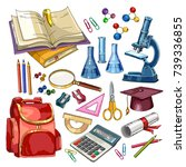education collection. education ...   Shutterstock .eps vector #739336855