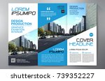 business brochure. flyer design.... | Shutterstock .eps vector #739352227