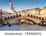 Rialto Bridge Over The Grand...