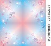 clubs shaped frame or border... | Shutterstock .eps vector #739362139