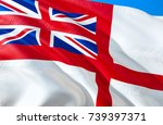 white ensign flag. united... | Shutterstock . vector #739397371