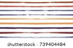 sailor stripes seamless vector... | Shutterstock .eps vector #739404484