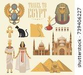 Egypt Travel Poster. Vector...