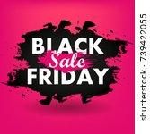 black friday sale   Shutterstock .eps vector #739422055