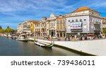 aveiro  portugal   july 25 ... | Shutterstock . vector #739436011