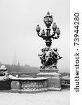 the alexandre iii bridge of...   Shutterstock . vector #73944280