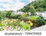 avoca river flowing through...   Shutterstock . vector #739479505