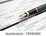 financial references | Shutterstock . vector #73950394