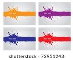 Vector Ink Background Eps8