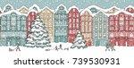 hand drawn illustration of... | Shutterstock .eps vector #739530931