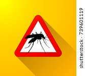 illustration of mosquito... | Shutterstock .eps vector #739601119