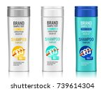 cosmetic packaging  realistic... | Shutterstock .eps vector #739614304