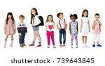 diverse people set | Shutterstock . vector #739643845
