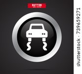 simple car icon | Shutterstock .eps vector #739659271