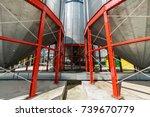 metalware of the silo base for...